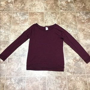 PINK Victoria's Secret Long Sleeve Cotton Top